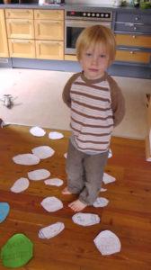 My son Valentijn in his spiritual panorama